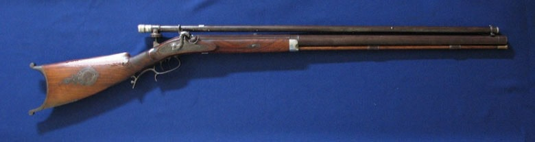Historic Rifle With Rifle Scope