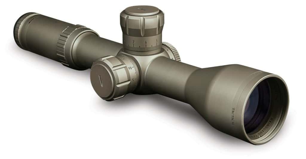 Bushnell Elite Tactical G2 FFP Reticle ERS Riflescope, 3.5-21x 50mm (Flat Dark Earth)