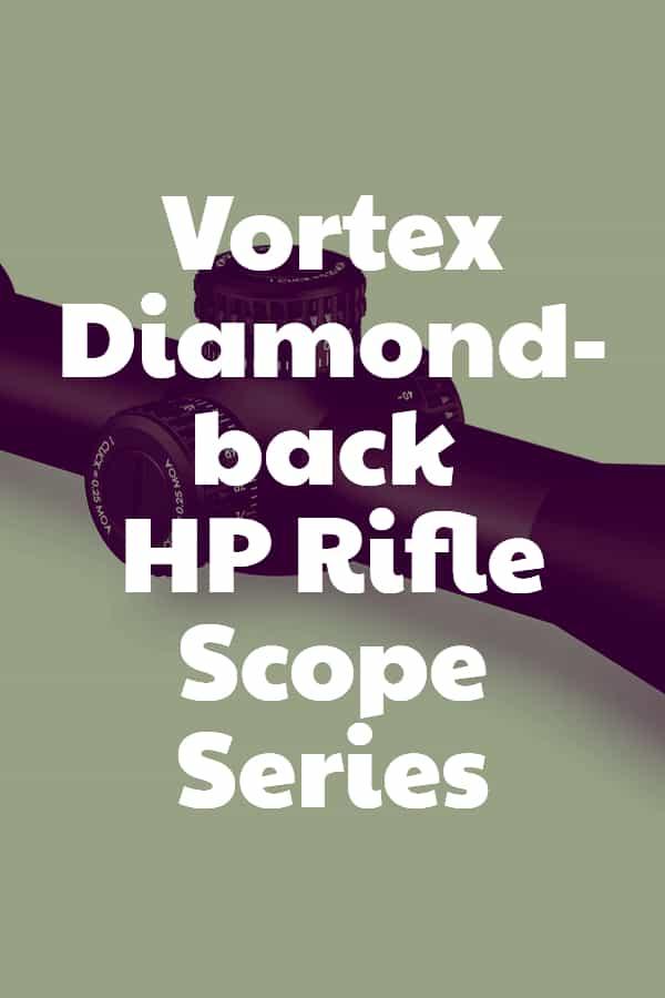 Vortex Diamondback HP Rifle Scope Series Pin