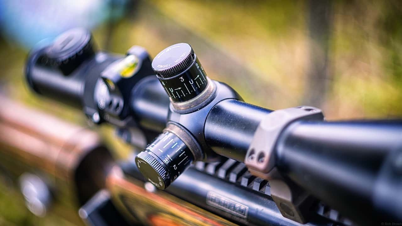 Rifle Scope with high magnification