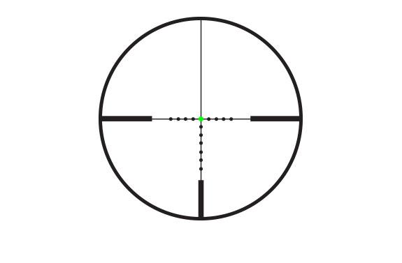 Trijicon AccuPoint 4-16x50 Reticle MOA-Dot Crosshair Green Dot