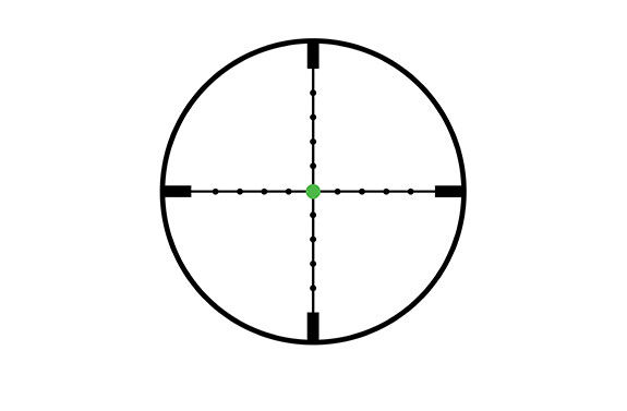 Trijicon AccuPoint 4-16x50 Reticle Mil-Dot Crosshair Green Dot