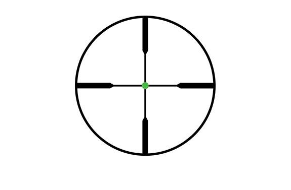 Trijicon AccuPoint 4-16x50 Reticle Standard Duplex Crosshair Green Dot