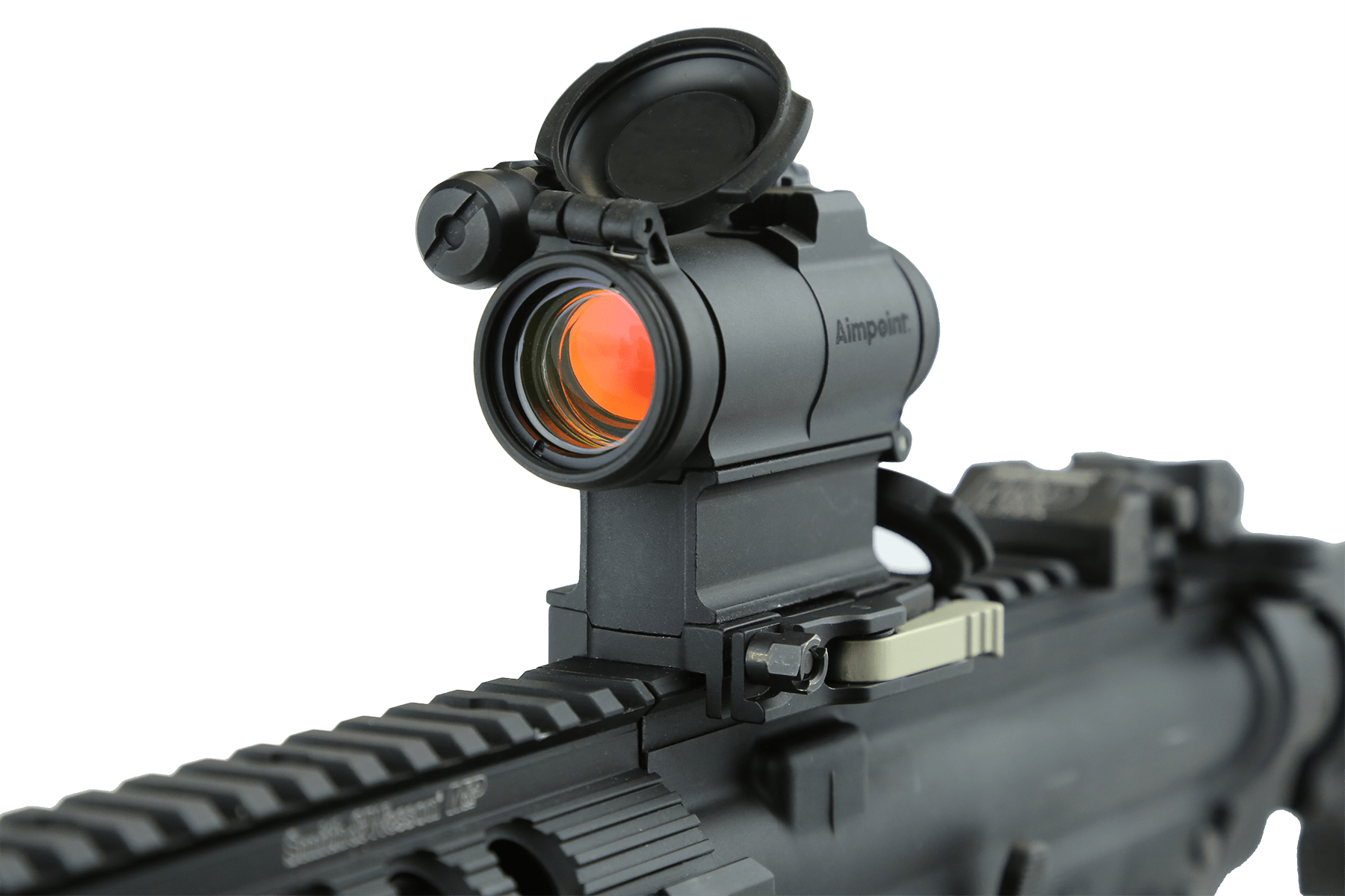 CompM5 Red-Dot Optic mounted