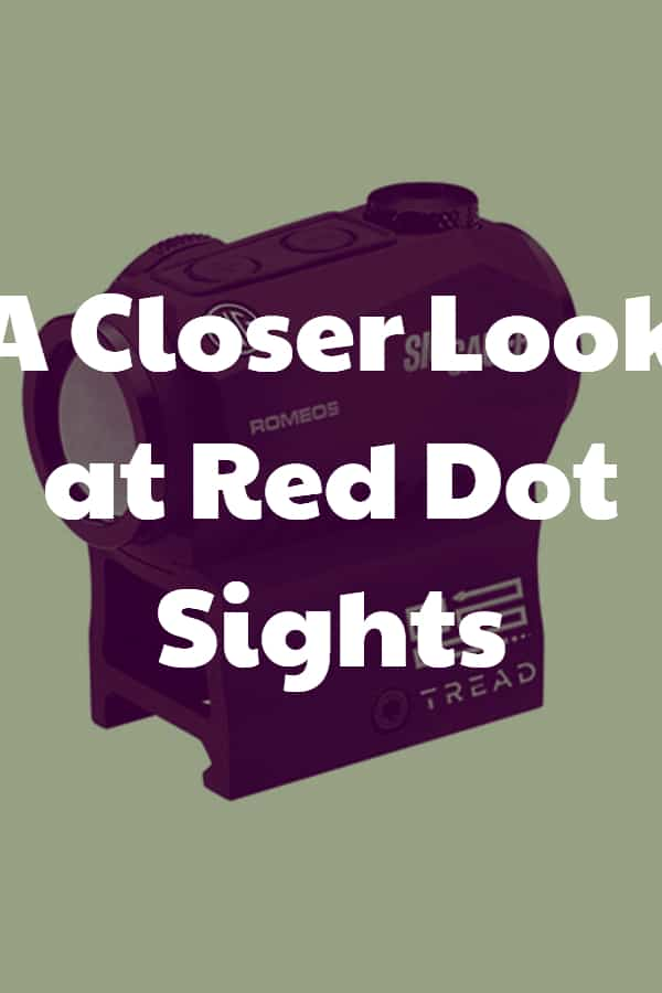Let's see what the fuzz about Red Dot Sights is all about!
