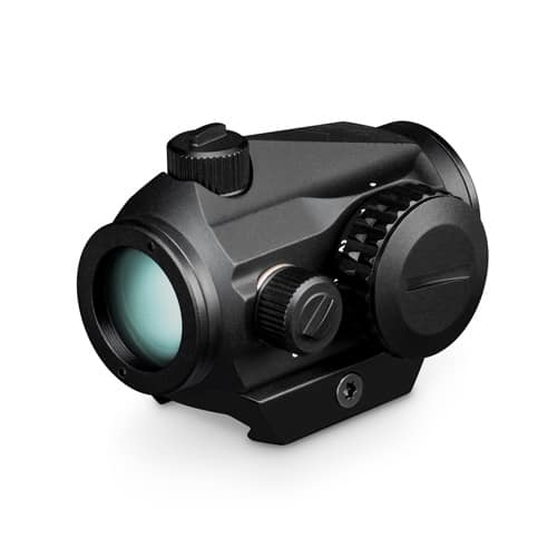 Vortex Crossfire Red Dot Sight on a low mount from back