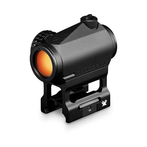 Vortex Crossfire Red Dot with a hight mount from the front