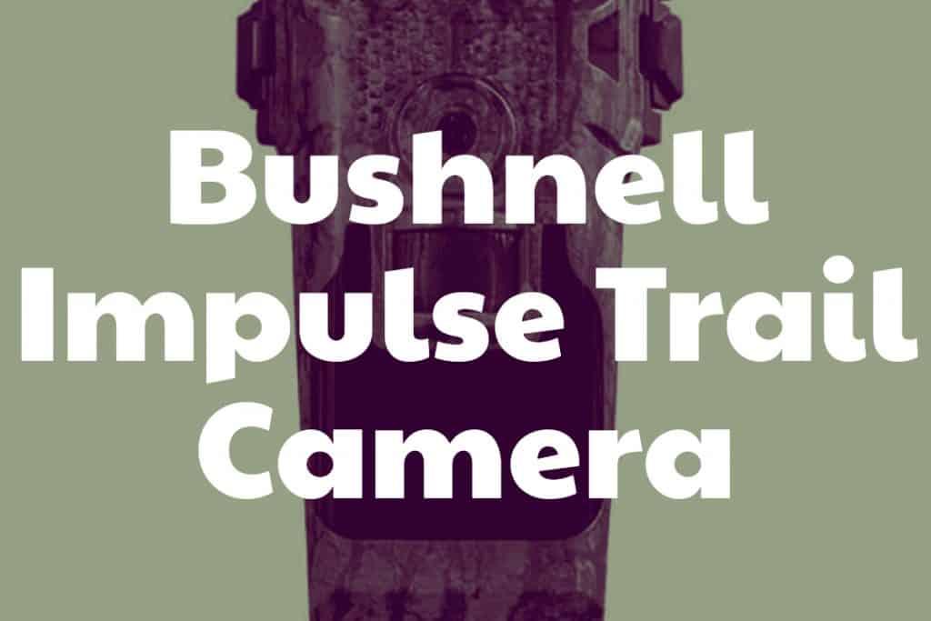 Impulse Trail Camera by Bushnell