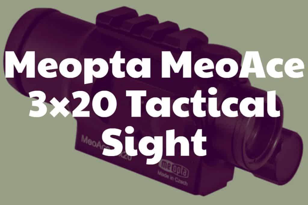 Meopta MeoAce 3×20 Tactical Sight