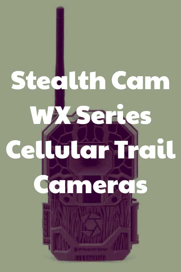 Stealth Cam WX Series Cellular Trail Cameras - Pin