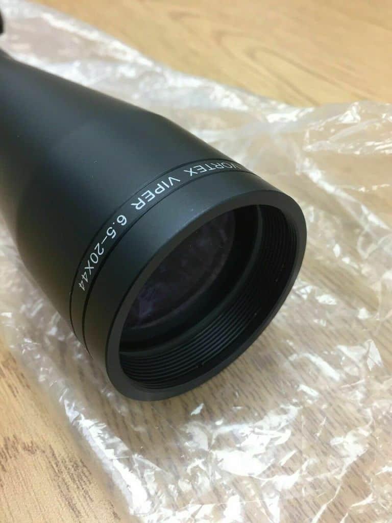 Vortex Viper 6.5-20x44 objective lens