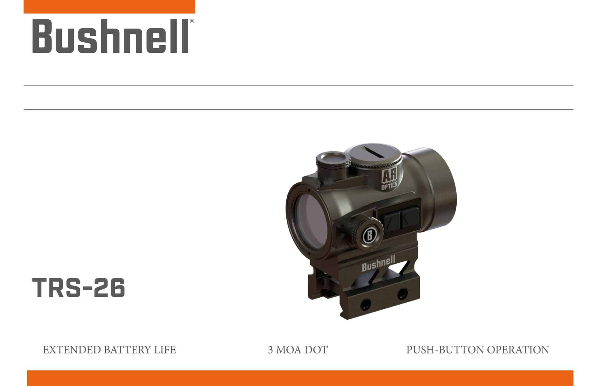 Bushnell TRS-26 Red Dot Sight