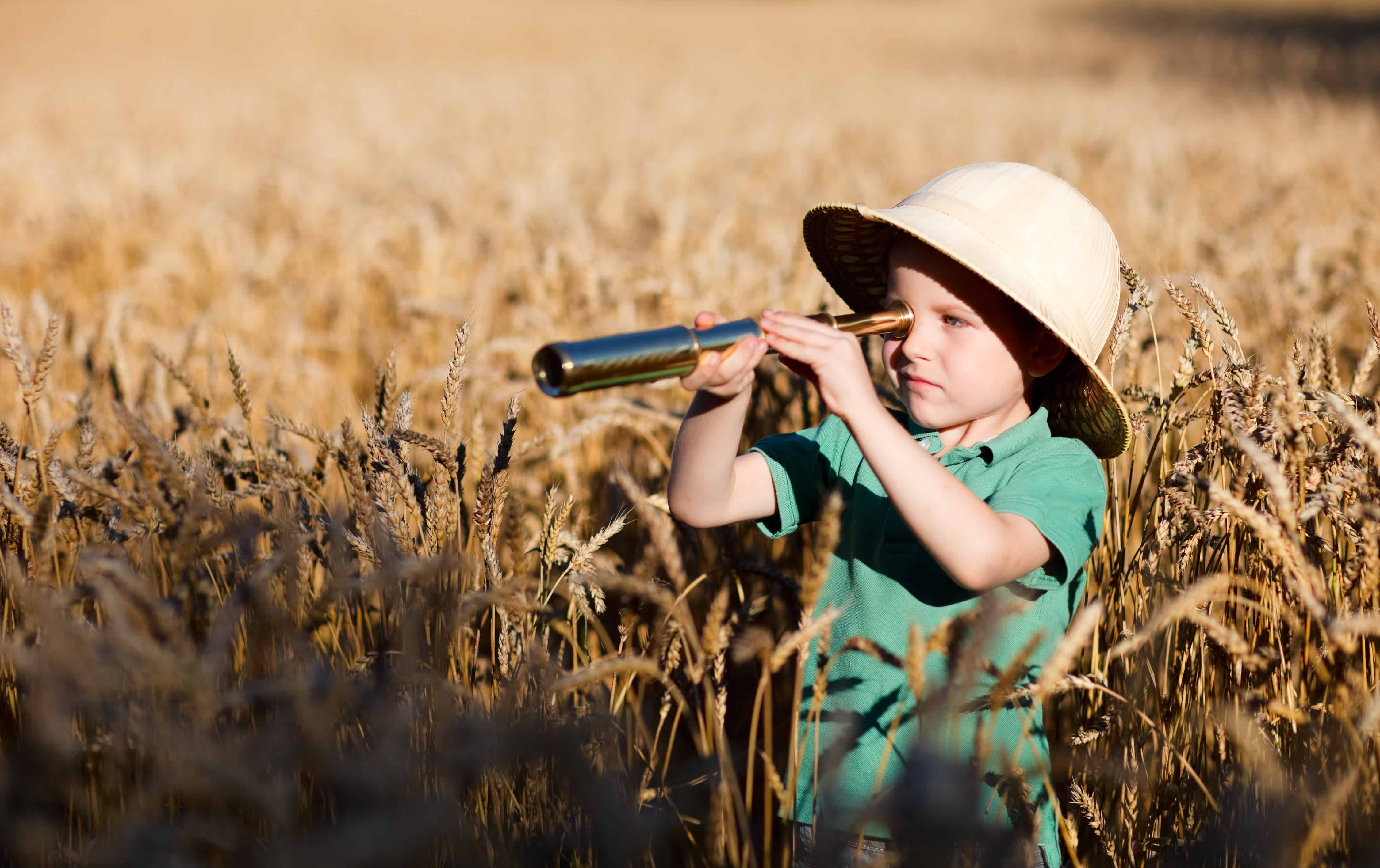 Hunting and exploring nature with a monocular