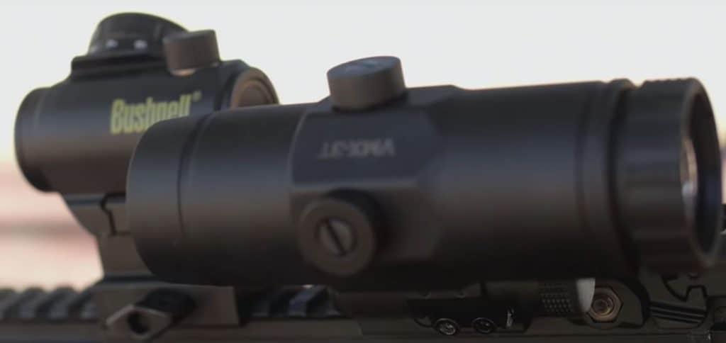 Red Dot Magnifier Flip-Mount
