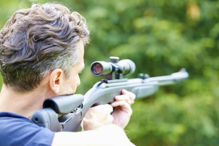 Shooting your air rifle with a good scope