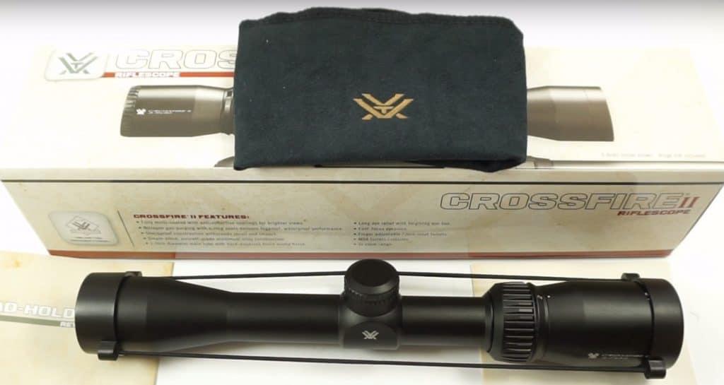 Vortex Crossfire II 2-7x32 Rimfire Rifle Scope