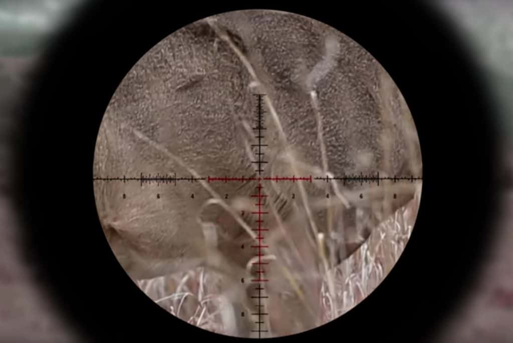 Reticle for Long-Range Shooting