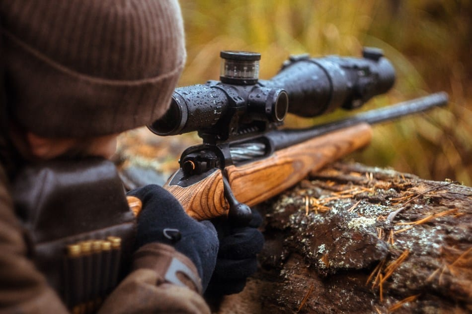 Cerakoting a rifle scope