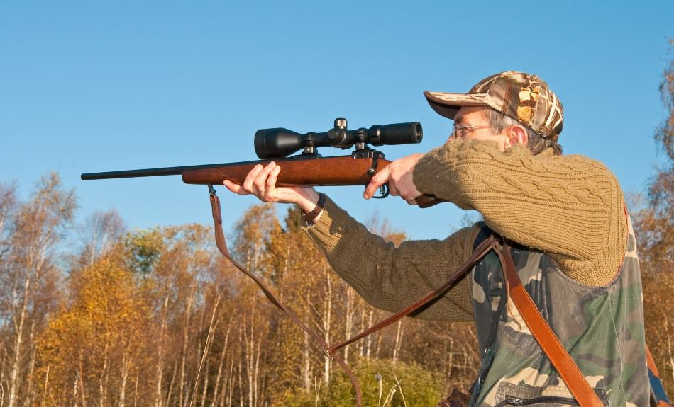 Eye Relief on a Rifle Scope - Use long eye relief scopes for heavy recoil!