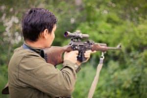 Long Eye Relief on a scope