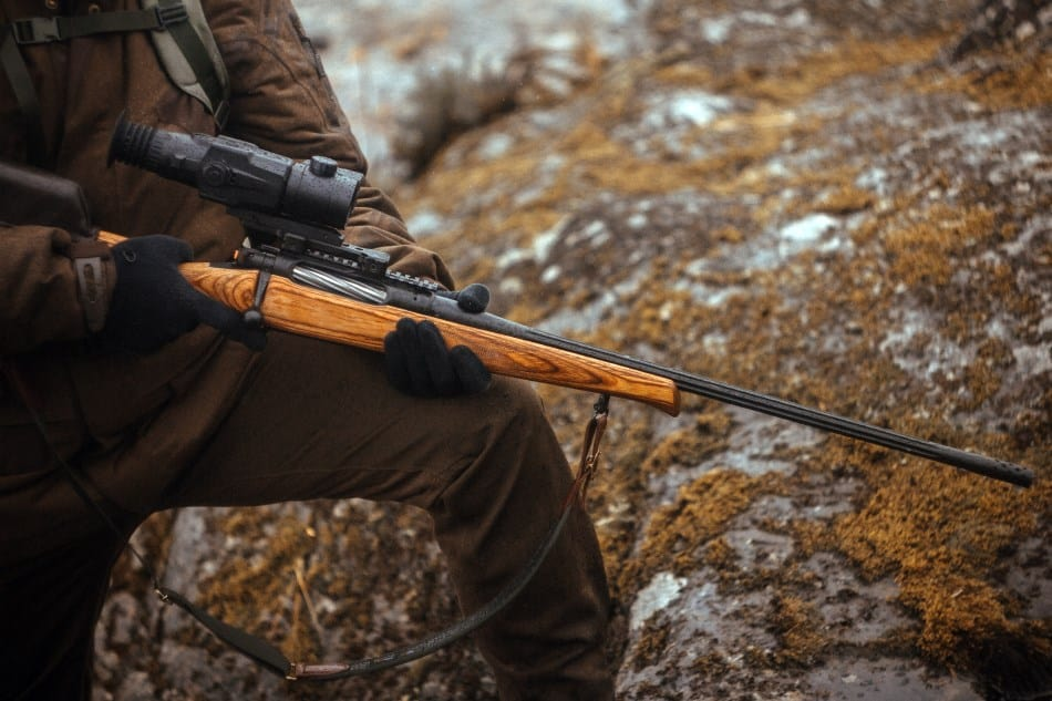 Using cerakote on a rifle scope