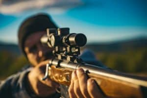 The 17 HMR is a rimfire cartridge. The scope should be a matching rimfire scope with BDC.