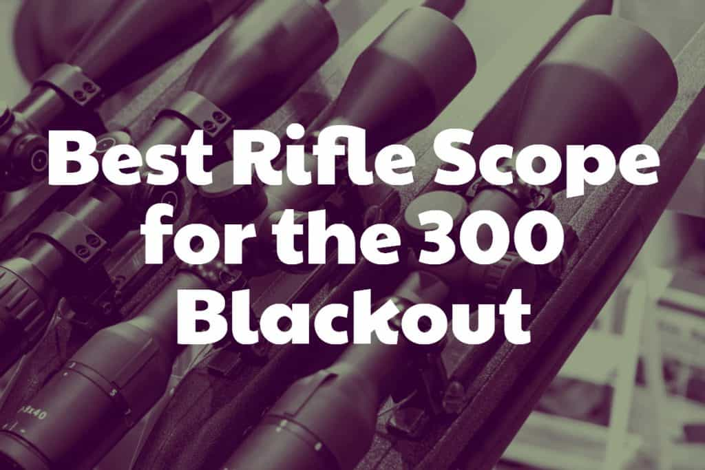 Best Rifle Scope for the 300 Blackout