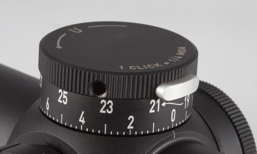 Adjusting windage on a scope