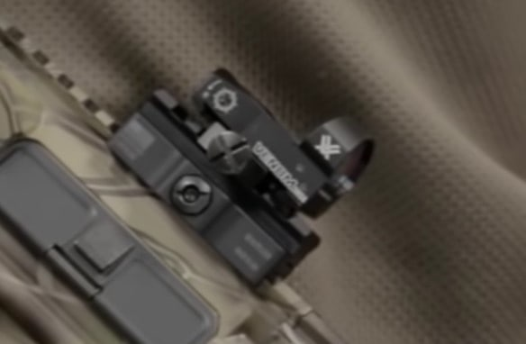 Vortex Optics Venom mounted on rifle