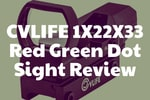 CVLIFE 1X22X33 Red Green Dot Sight Review