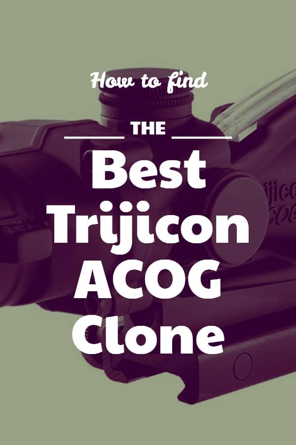 Best Trijicon ACOG Clone Pin
