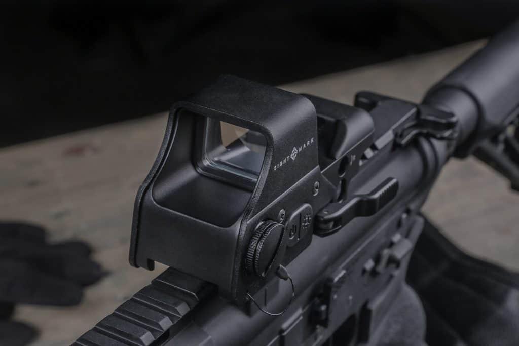 Sightmark Ultra Shot Plus Gunsight - Great Red Dot Reflex Sight Optic
