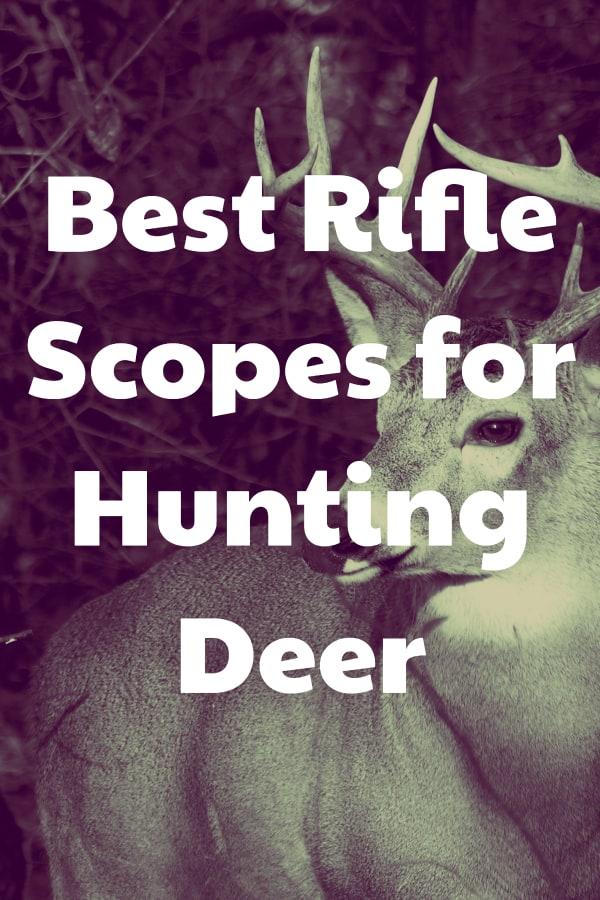 Finding the top rifle optics to hunt deer