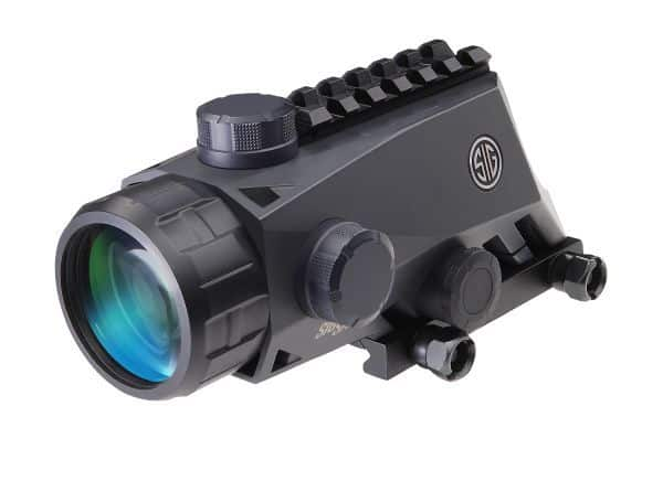 Sig Sauer Bravo4 Sight from rear - Is it the best ACOG clone?