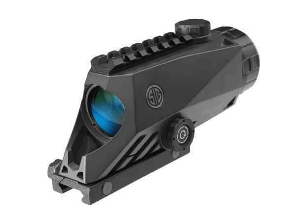 Bravo 4 from Sig Sauer - Sight with 4x magnification and illuminated reticle