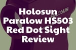 Review of the red dot sight Holosun Paralow HS503
