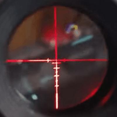 Monstrum Tactical Red Illuminated Reticle