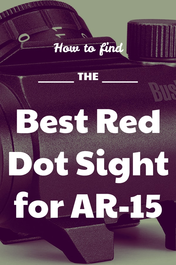 Finding the Best AR-15 Red Dot Sight