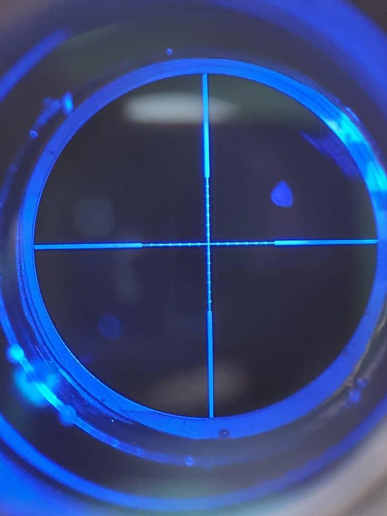 Pinty reticle illuminated