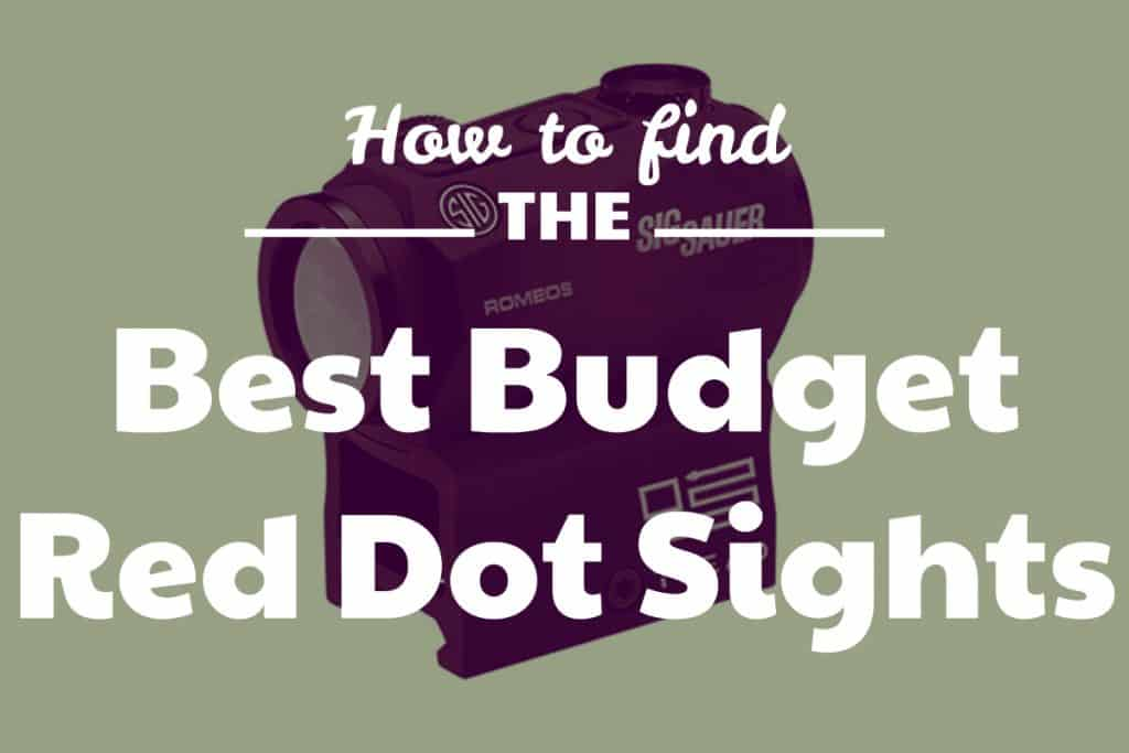 Best Budget Red Dot Sights